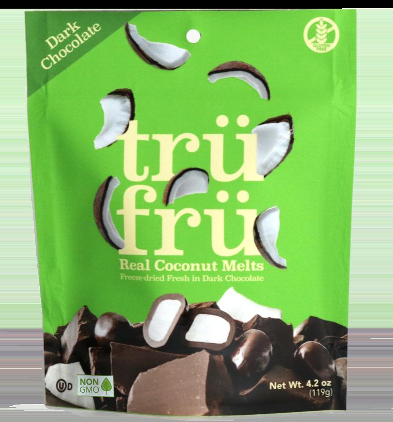 Coconut Melts Dark Chocolate 4.2 oz